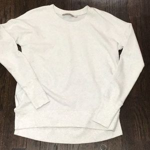 Athleta coaster luxe sweatshirt  grey XS